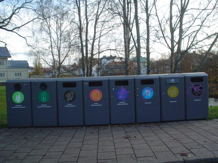 Waste sorting Gavle Sweden 696x522